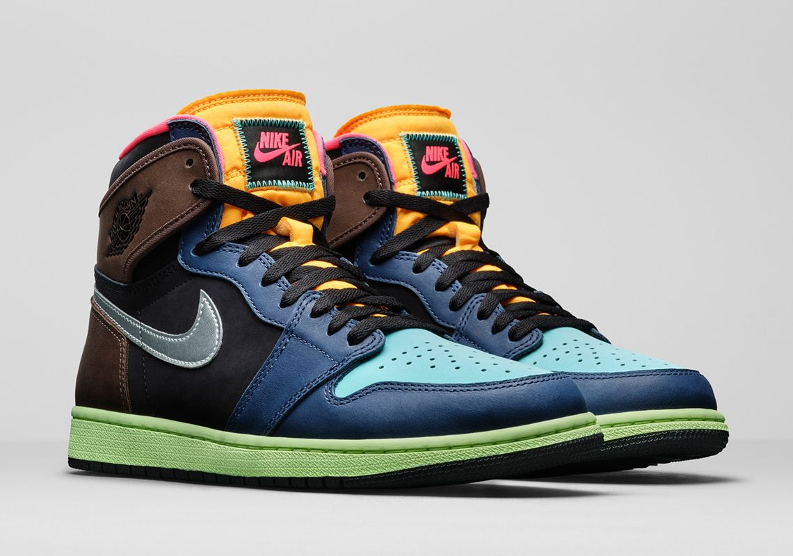 This Colorful Air Jordan 1 High Og Is Inspired By Tokyo Air Jordans Blue Basketball Shoes Sneakers Blue
