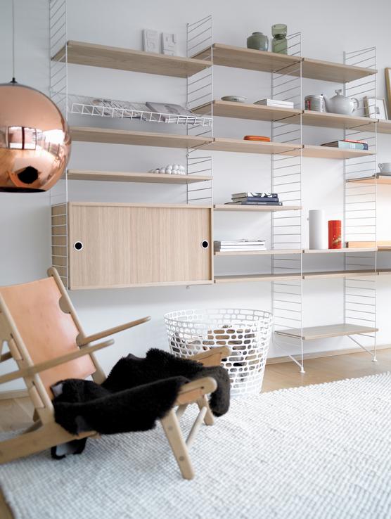 der wohnen klassiker das string regal wohnidee wohnideen string regale pinterest. Black Bedroom Furniture Sets. Home Design Ideas