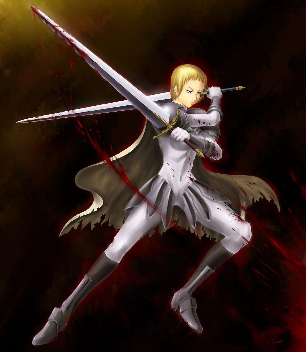 Pin on claymore anime & manga