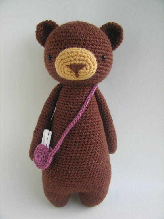 Bear Crochet Amigurumi Pattern | Osos, Ganchillo y Patrones