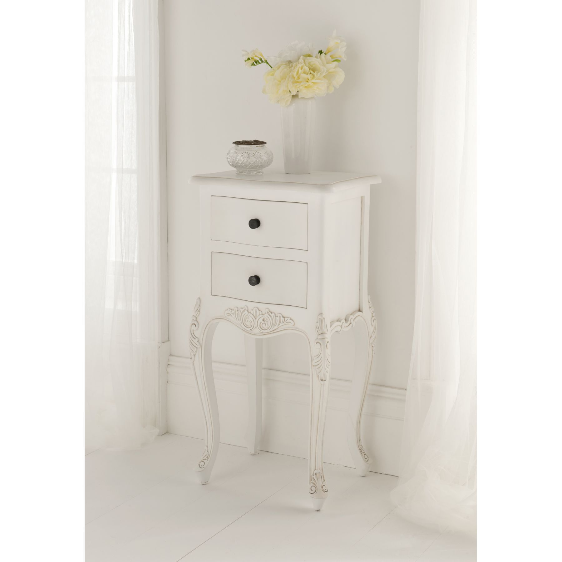 Paris Antique French Bedside To Compliment Our Shabby Chic Furniture