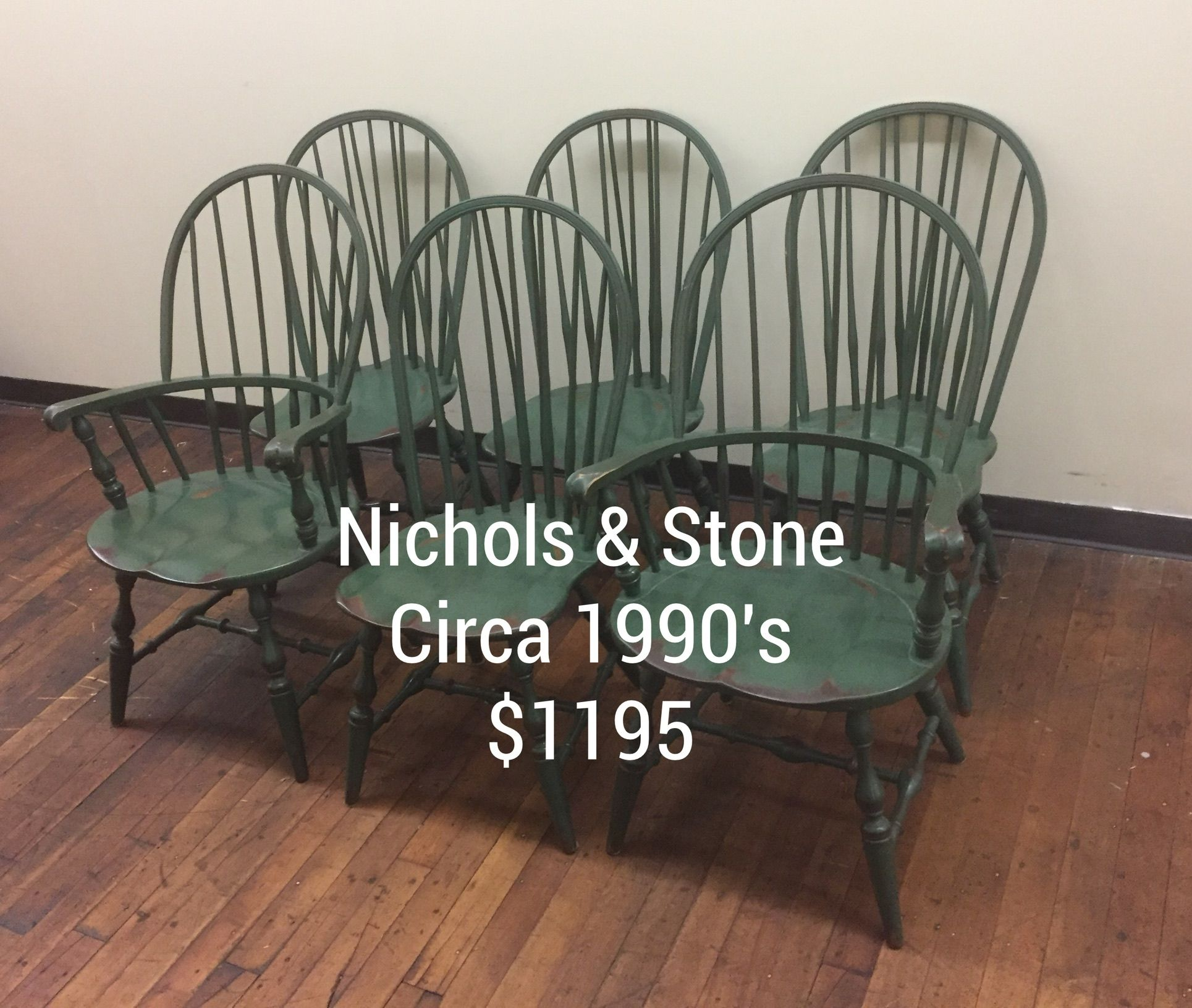 Beautiful Tall Back Nichols And Stone Factory Painted Distressed Windsor Chairs Available At The C Street Antique Mall 171 Lawrence Ma
