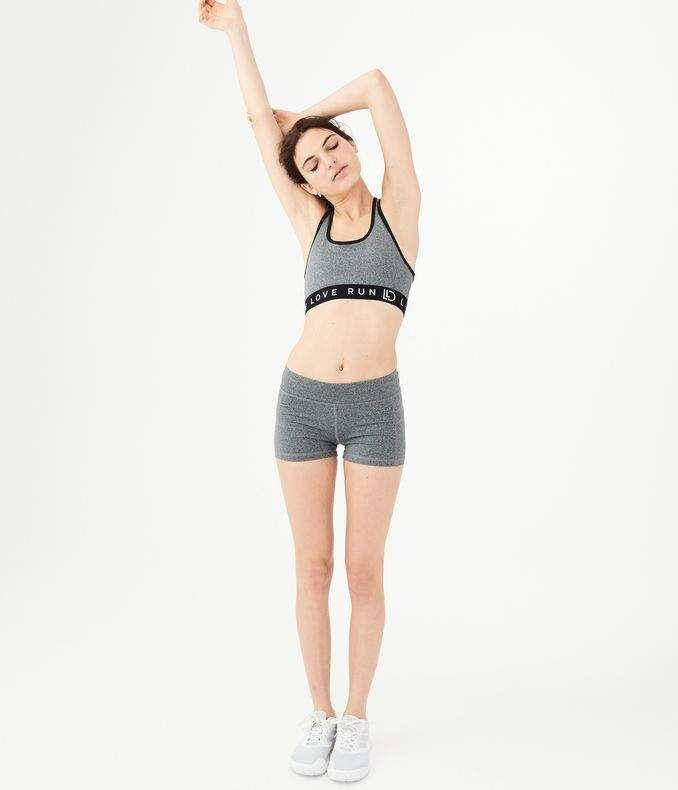 6876d1a6d4148 LLD Best Booty Ever Heathered Volleyball Shorts | Women's Summer ...