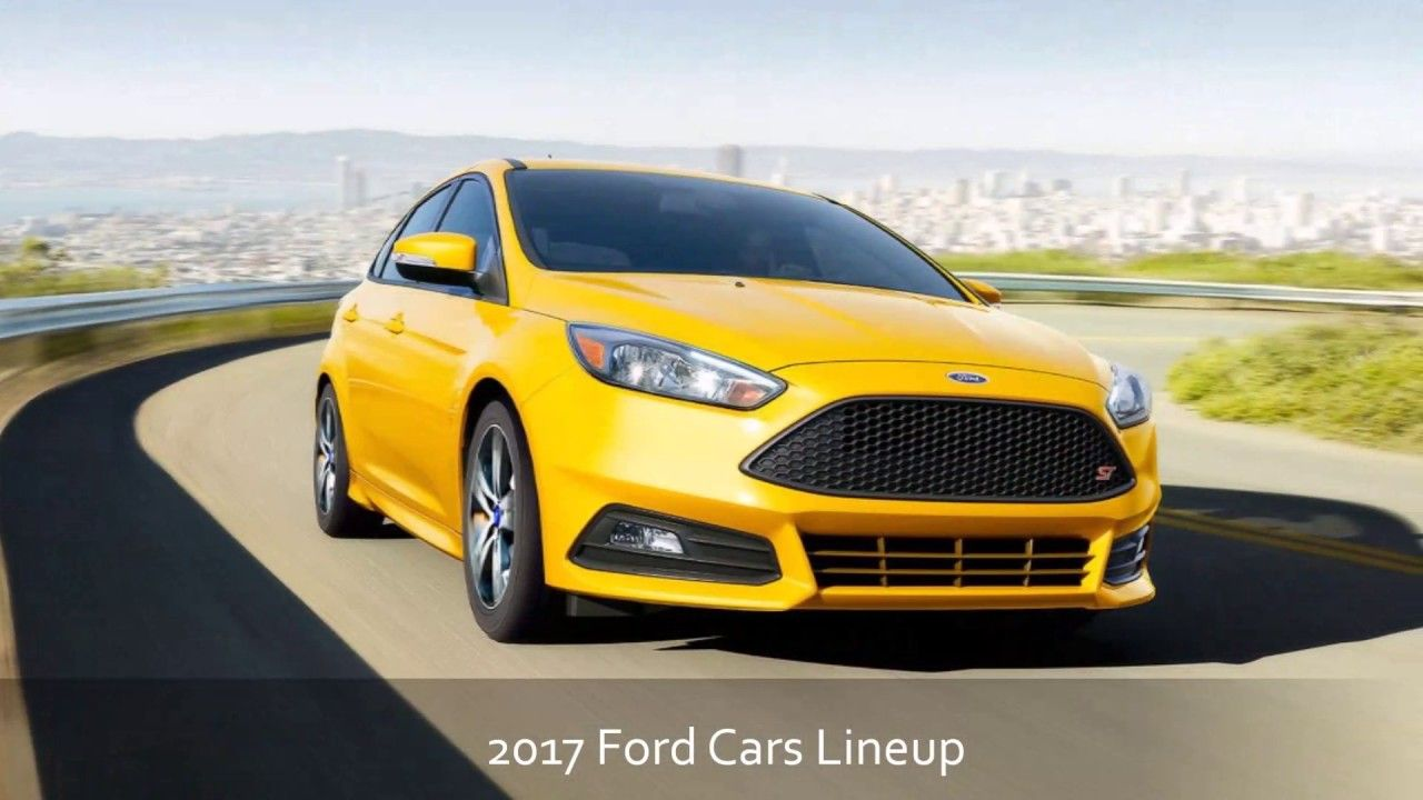 2017 Ford Cars Lineup at StateWide Ford Lincoln Serving