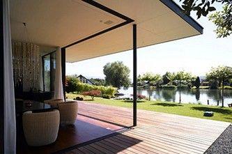 EFH / Villen | Sky-Frame isolierte Schiebefenster ohne Rahmen