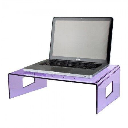 Plexiglass Design: Tavolino porta pc da letto in plexiglass ...
