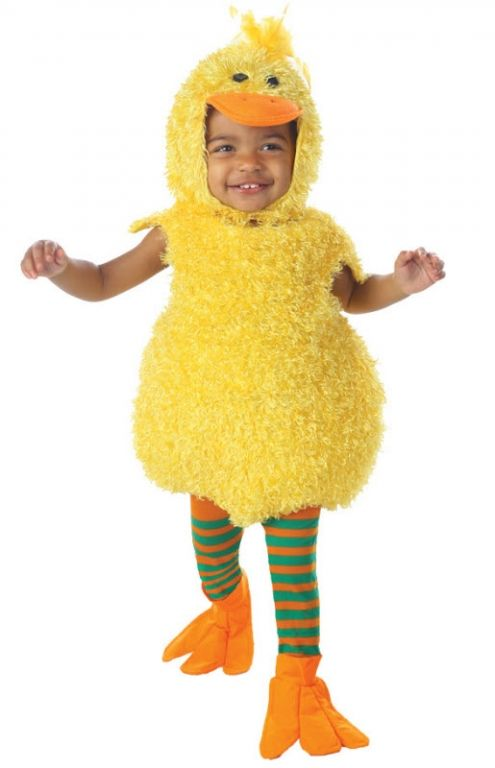 Little Duck Yellow Animal Cute Dress Up Halloween Infant Toddler Child Costume