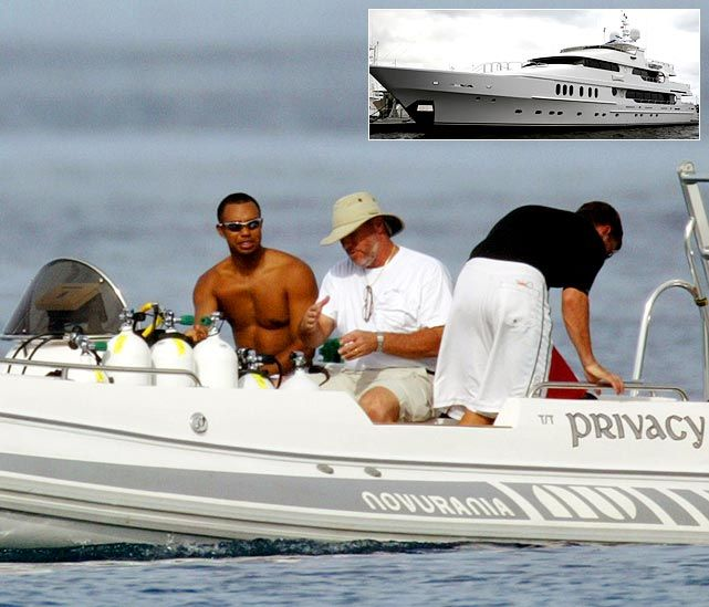 tiger woods solitude yacht