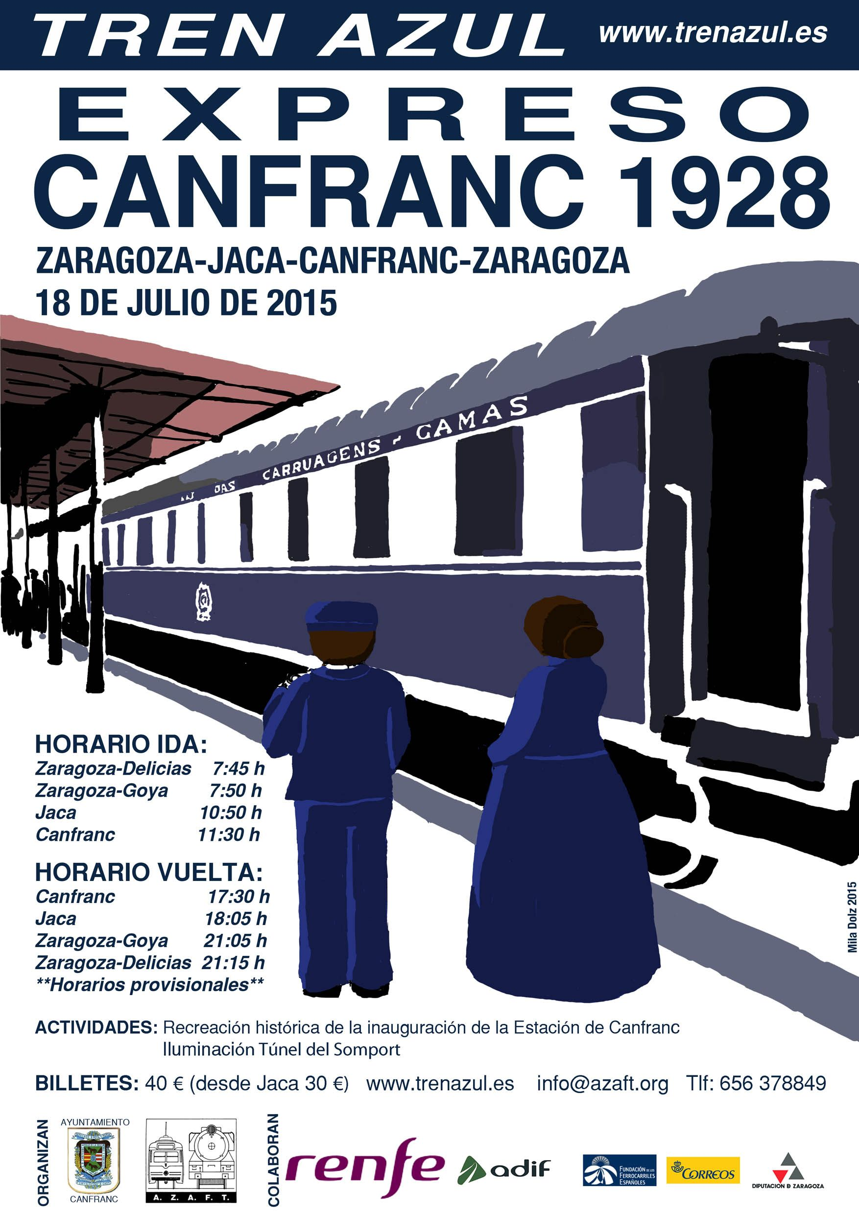 Expreso Canfranc 1928