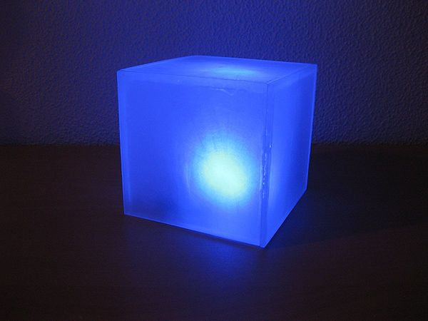Led Cube Night Light Cube And Crafts