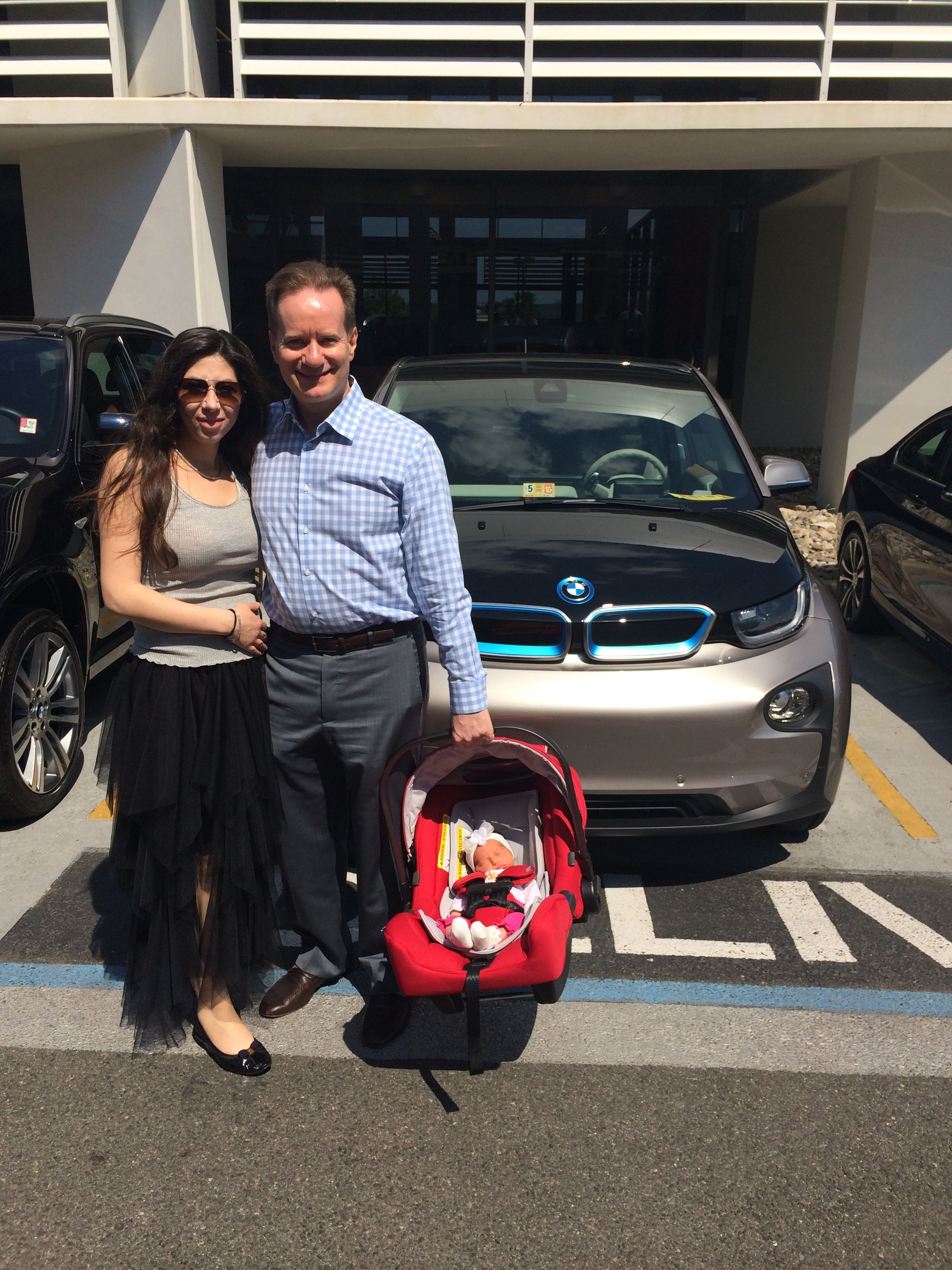 """Congratulations to our FIRST BMWi3 customers!!! """"Driving"""