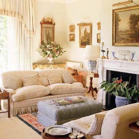 English Country Living Room Country Style Living Room Furniture