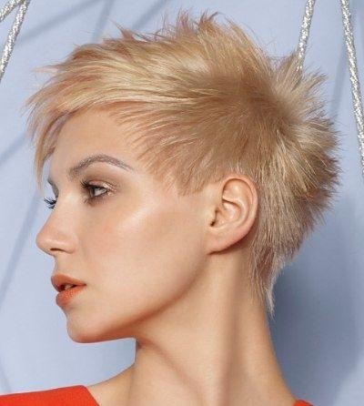 Super kurzer haarschnitt