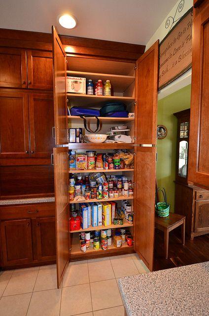 Kraftmaid Grandview Cherry Chocolate, Kitchen Pantry Cabinet Kraftmaid