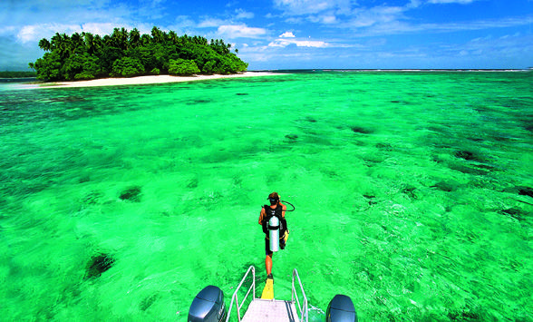 Pin On Diving In The South Pacific