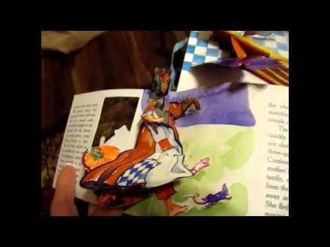 Peek Inside Cinderella Popup Book By Mathew Reinhart