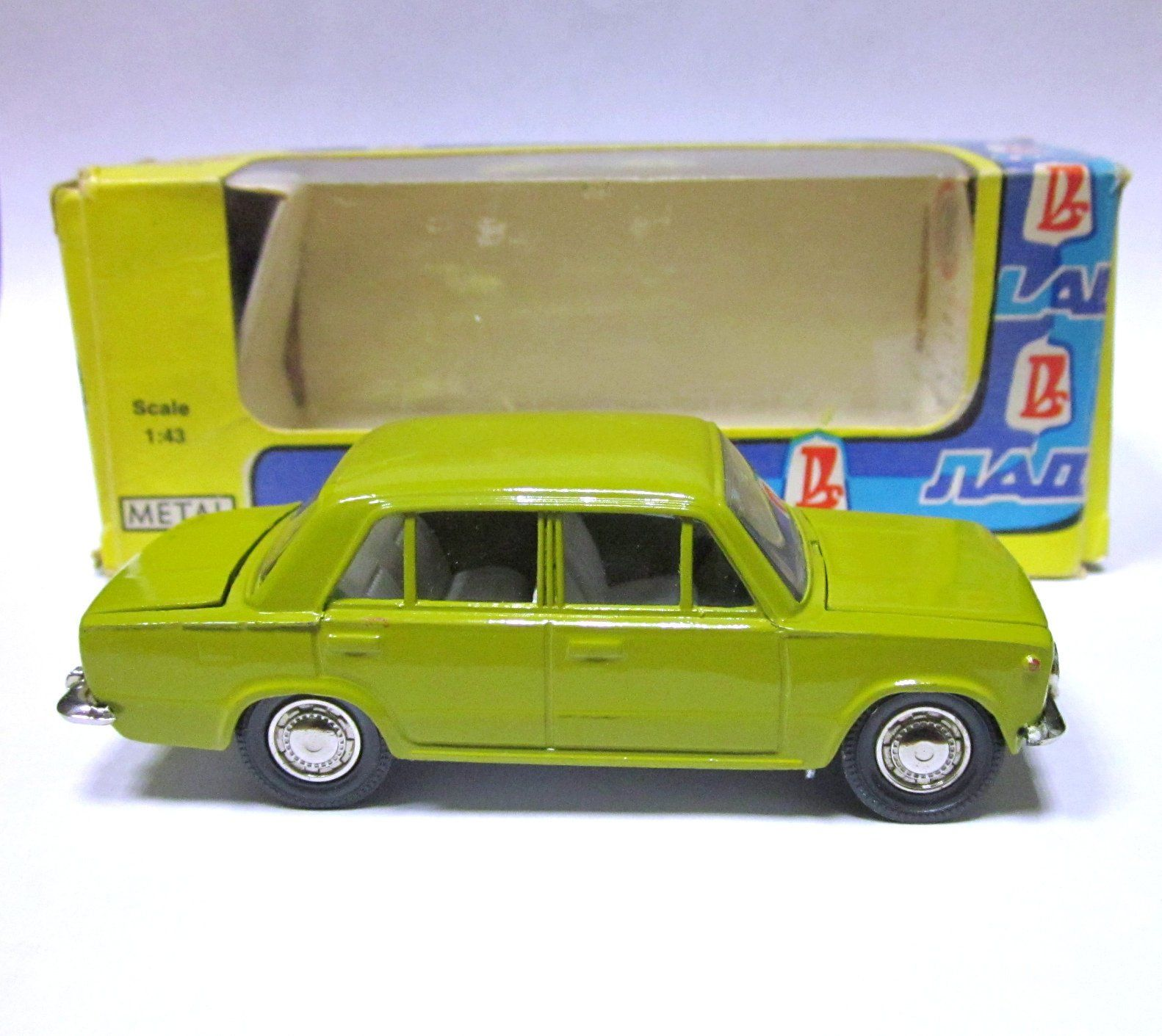 Soviet Toy Russian toy Rare VAZ 2101 lada A9 metal Vintage Toy Car