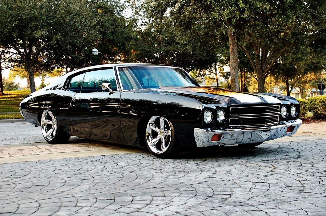 American Muscle Cars… Custom Chevrolet Chevelle 1970