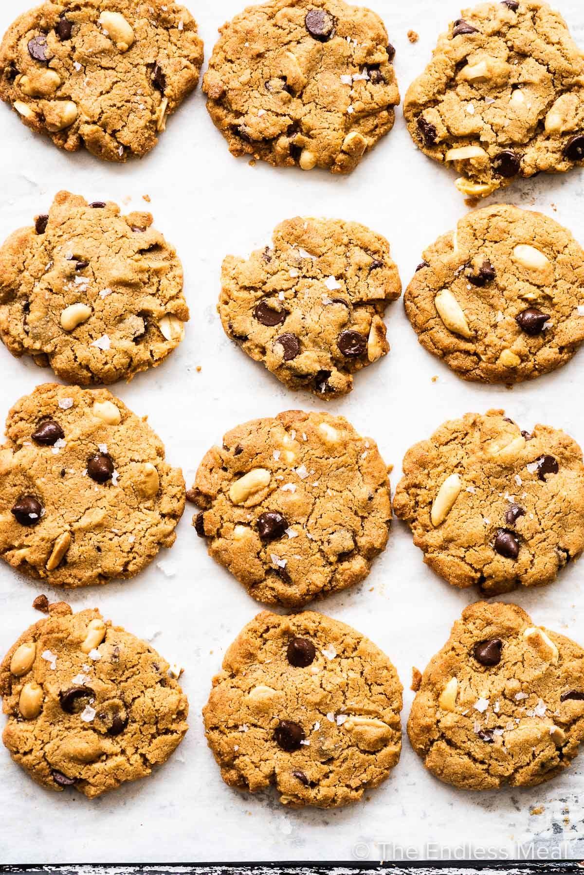 Gluten Free Peanut Butter Cookies Recipe in 2020