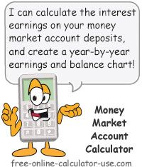 Money Market Account Calculator This Free Online Calculator Will