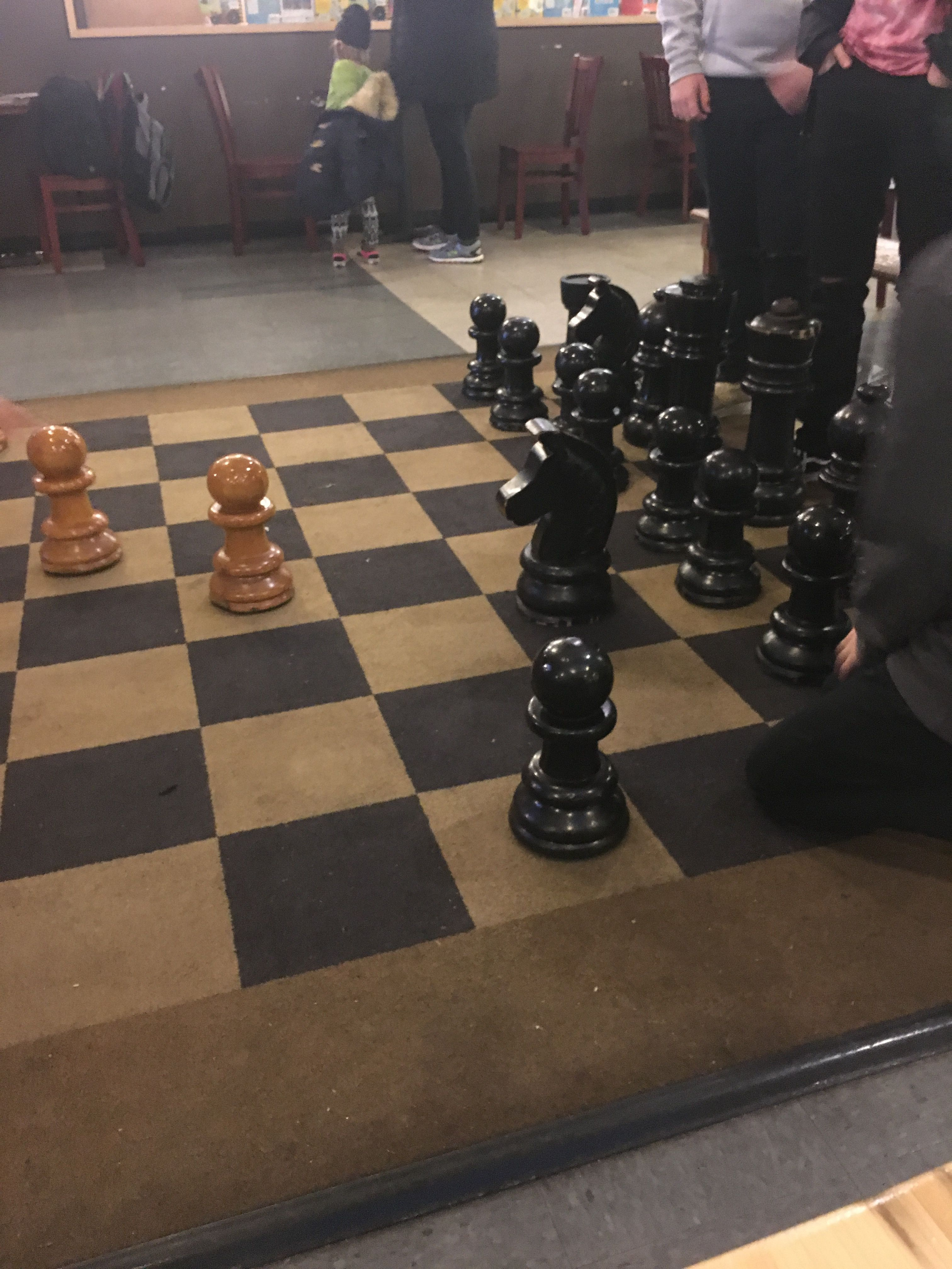 The game of chess teaches moves and counter ones. Each