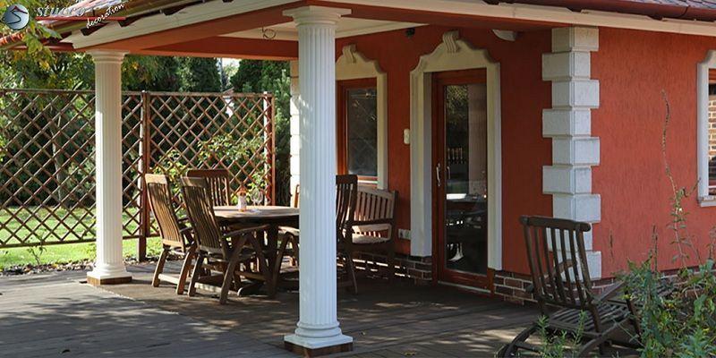 Saulenverkleidung Betonsaule Verkleiden Styroporsaule Terasse Eingang Vordach Verkleidung Styropor Styroporleisten