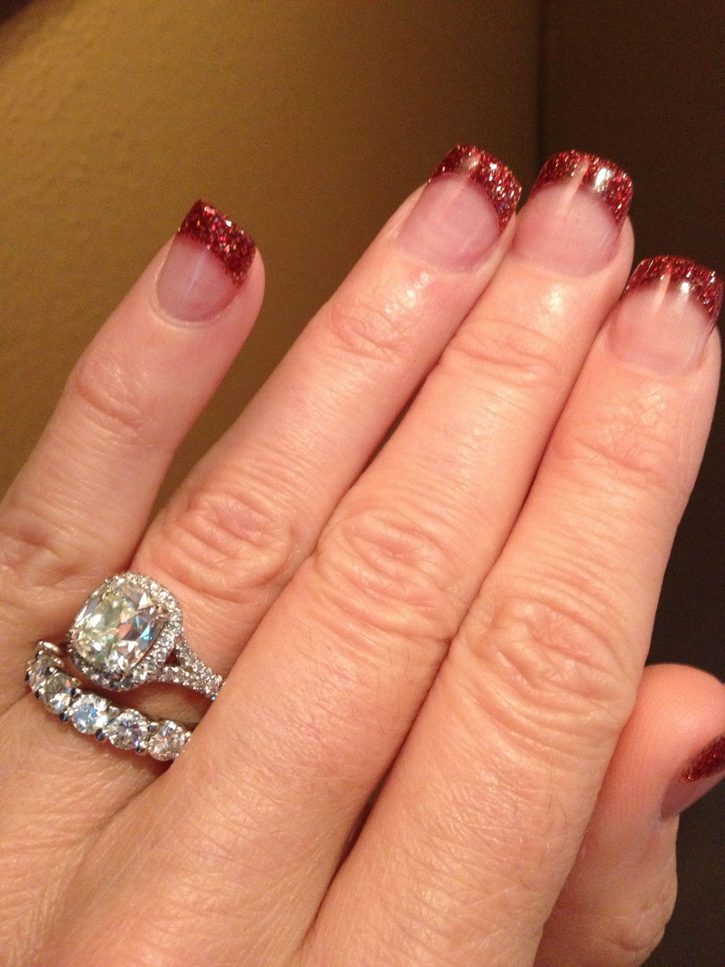 New Cushion Cut Halo Engagement Rings and Wedding Band