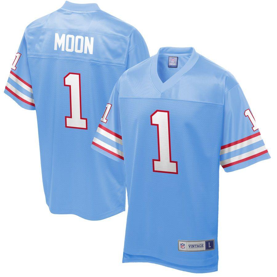 d9223d4a0 Warren Moon Houston Oilers NFL Pro Line Retired Player Jersey - Royal