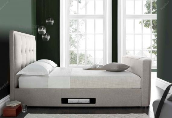 The Cartmel King Size TV Bed Luxuriously designed TV bed with ...