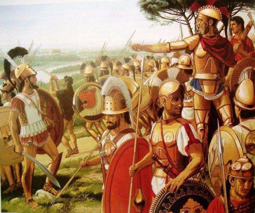 ETRUSCAN WARFARE: ARMY ORGANIZATION AND TACTICS (Part II ...