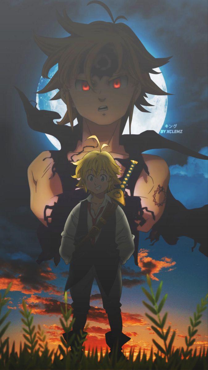 Meliodas Anime The Seven Deadly Sins Meliodas The Seven Deadly Sins 1080x1920 Mobile Wallpaper Demon King Anime Seven Deadly Sins Anime Anime Wallpaper