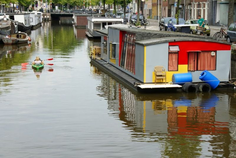 Wirklich Traumhafte Hausboote In 2020 House Boat Water House Houseboat Living