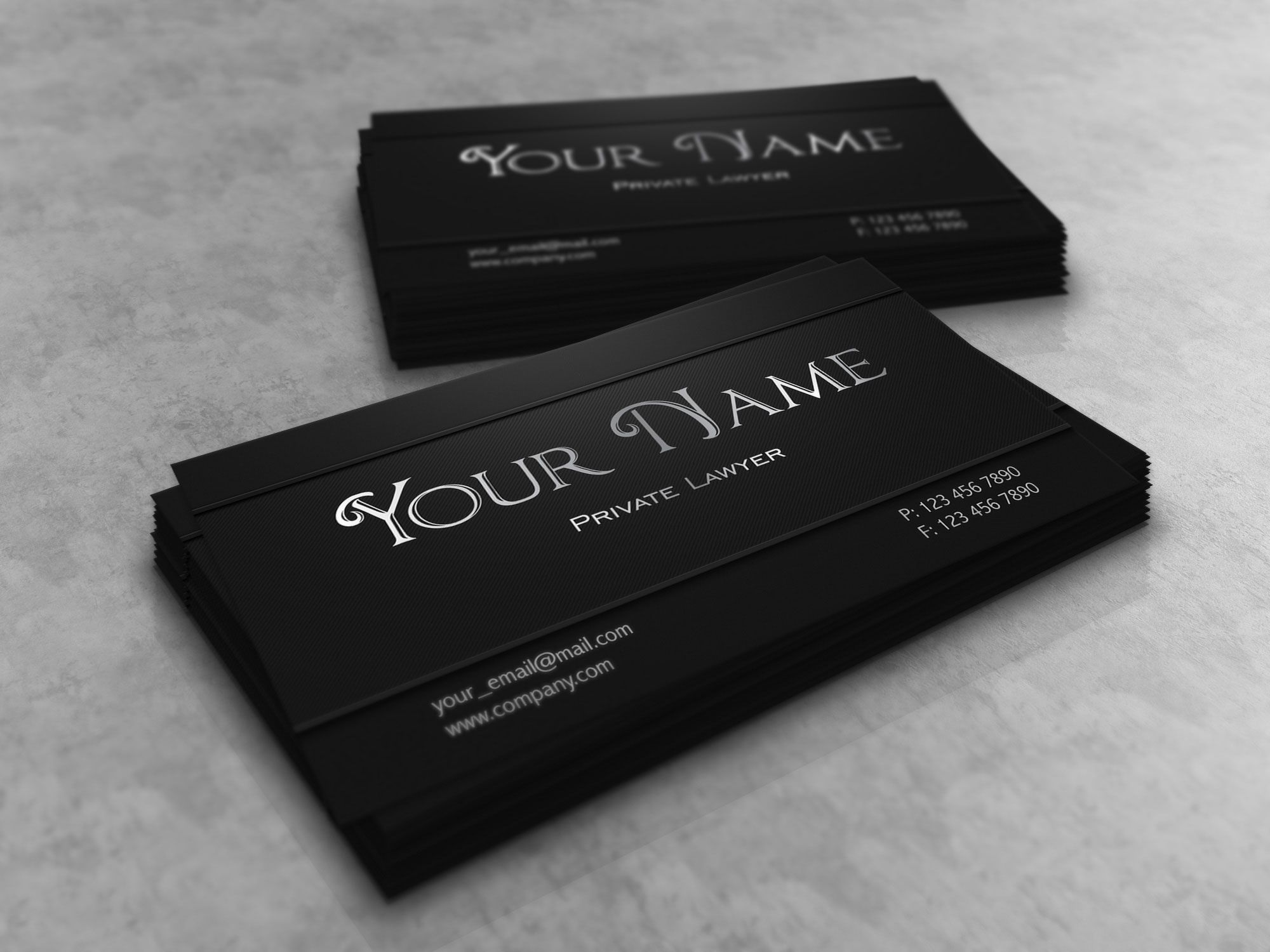 Dark Lawyer Business Card Template More At Designresourcesio - Lawyer business card template