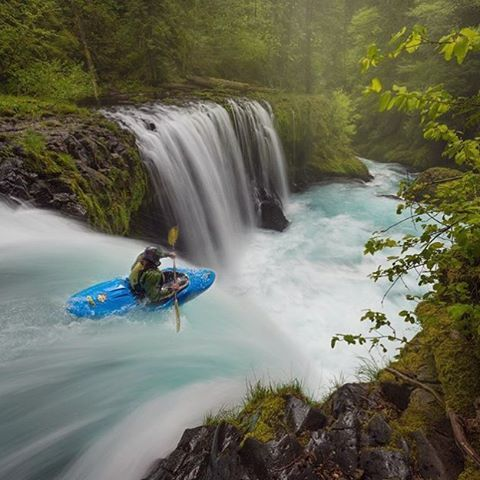 Sprit Falls, Washington ~ Photograph By @mitalpatelphoto