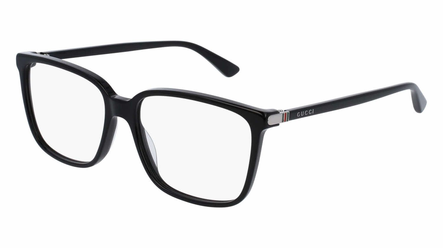 e1fa2684e Gucci GG0019O Eyeglasses | 50% Off Lenses and Add-Ons! + | Prescription  lenses, designer frame, Price Match Guarantee