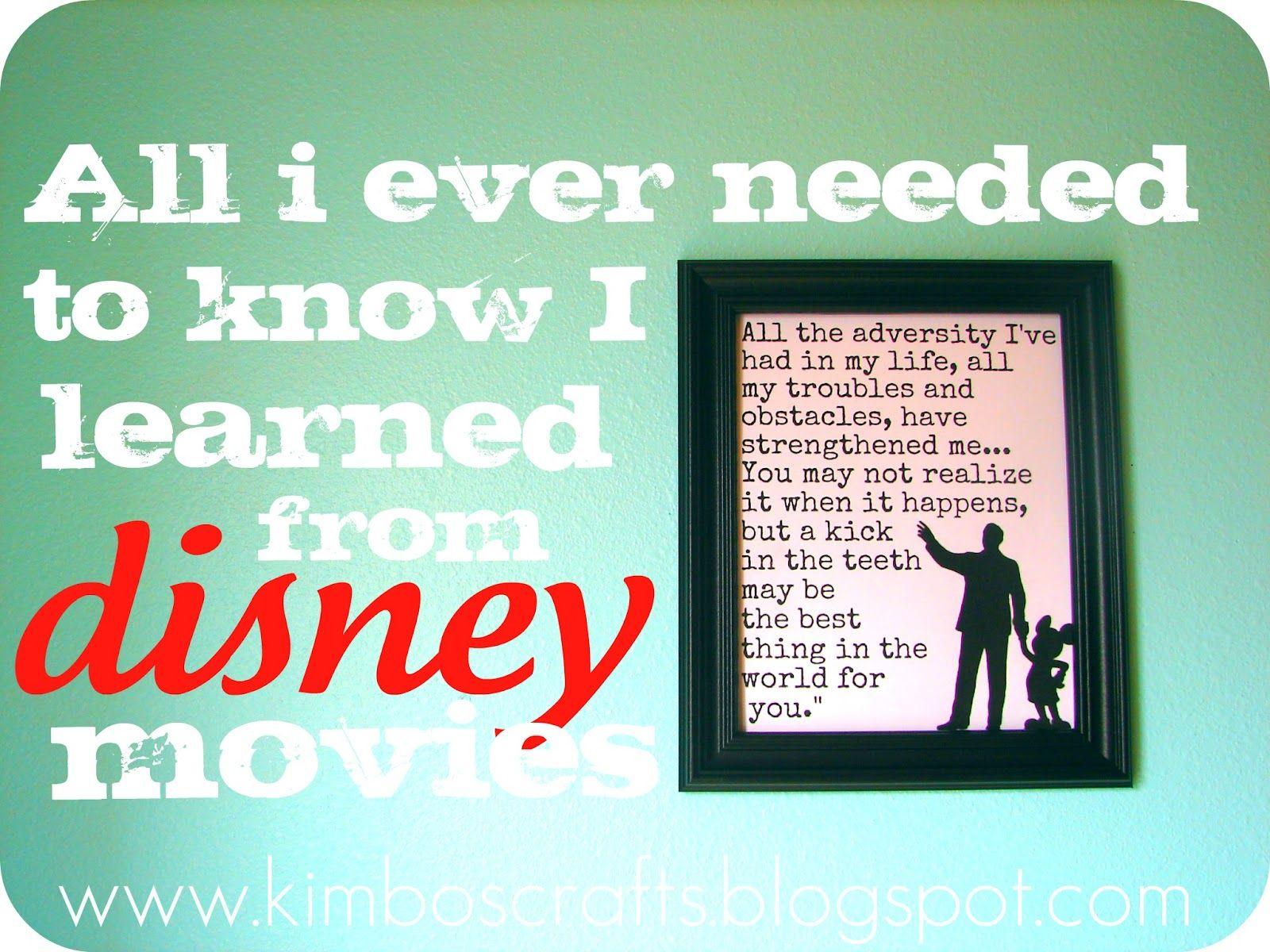 Oh Walt I Love You Aka Disney Printables How To