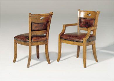 Bausman Co 3211 English Arm Chair Chair Dining Chairs