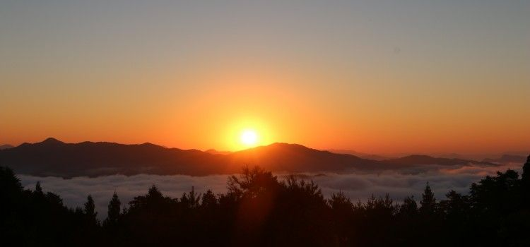 【動画あり】1分で分かる、草尾の雲海と日の出!