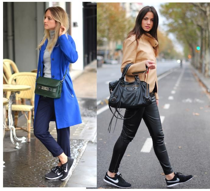 5 Outfits con zapatillas blancas - YouTube