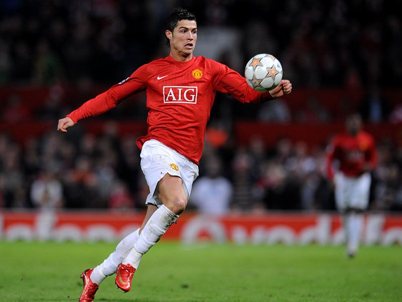 Christiano Ronaldo. one of the hottest soccer players ever