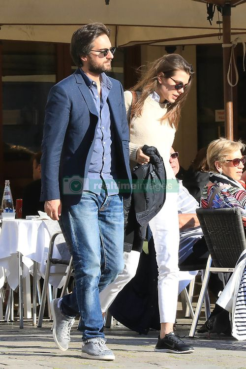 EXCLUSIVE Charlotte Casiraghi and Dimitri Rassam spotted in Venice. 10 May  2017 Pictured
