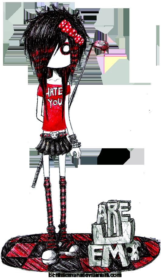 Are U Emo by DemiseMAN.deviantart.com on @deviantART
