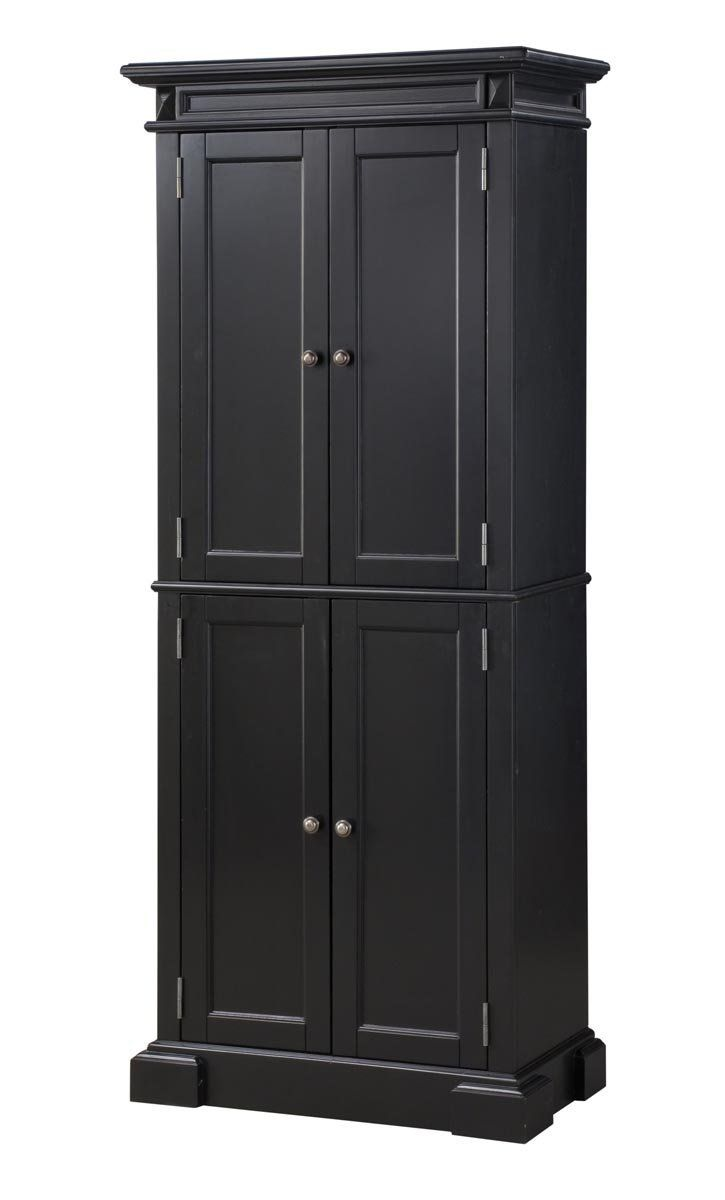 Amazon Com Home Styles 5004 694 Americana Pantry Storage Cabinet