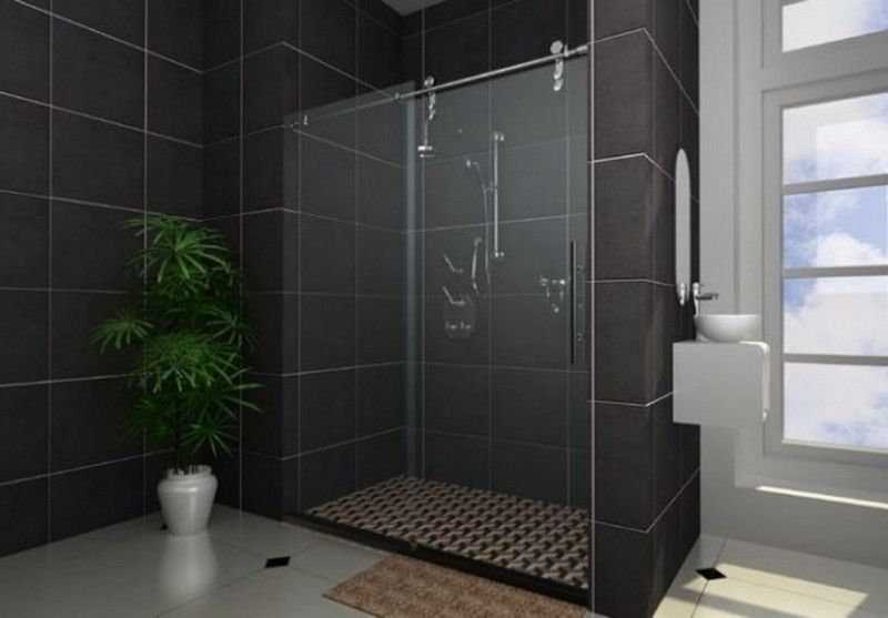 Modern Shower Glass Tile