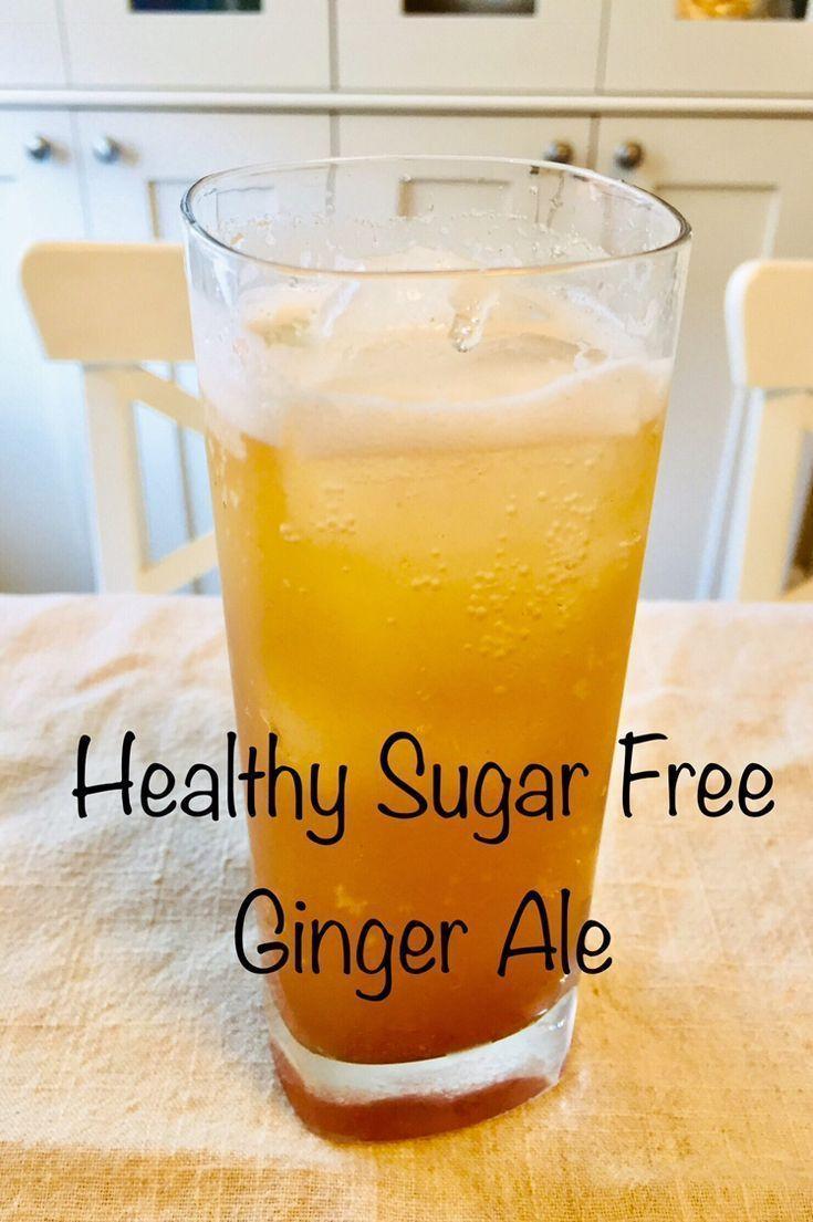 zuckerfreies selbst gemachtes Ingwer-Ale-Rezept. So eine erfrischende, delikate ...   - Healthy Eating -Gesundes raffiniertes zuckerfreies selbst gemachtes Ingwer-Ale-Rezept. So eine erfrischende, delikate ...   - Healthy Eating -
