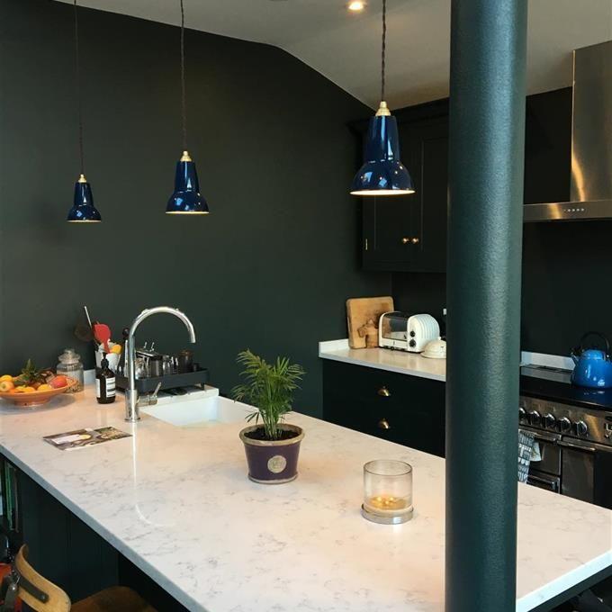 Best Studio Green Kitchen Farrow Ball 400 x 300