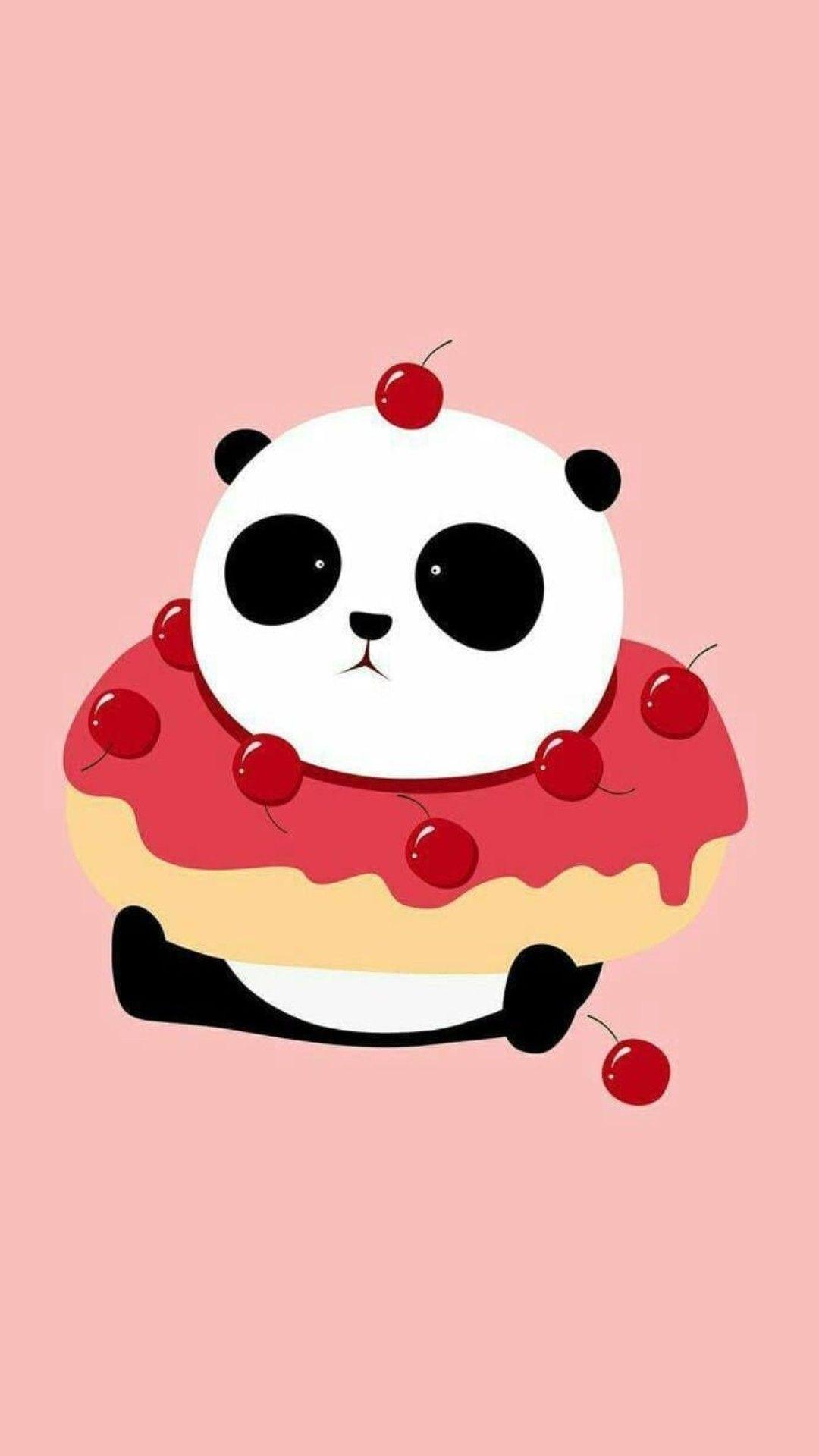 Donut Panda 2020 Pandalar Panda Cizimler