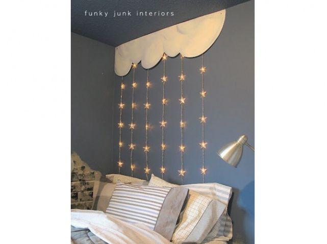 guirlande lumineuse chambre enfants funky junk interiors. Black Bedroom Furniture Sets. Home Design Ideas