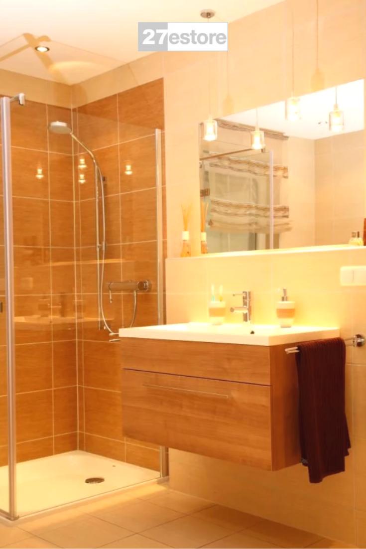 Light Italian Walnut In 2020 Modern Bathroom Modern Bathroom Design Bathroom Design Small Modern