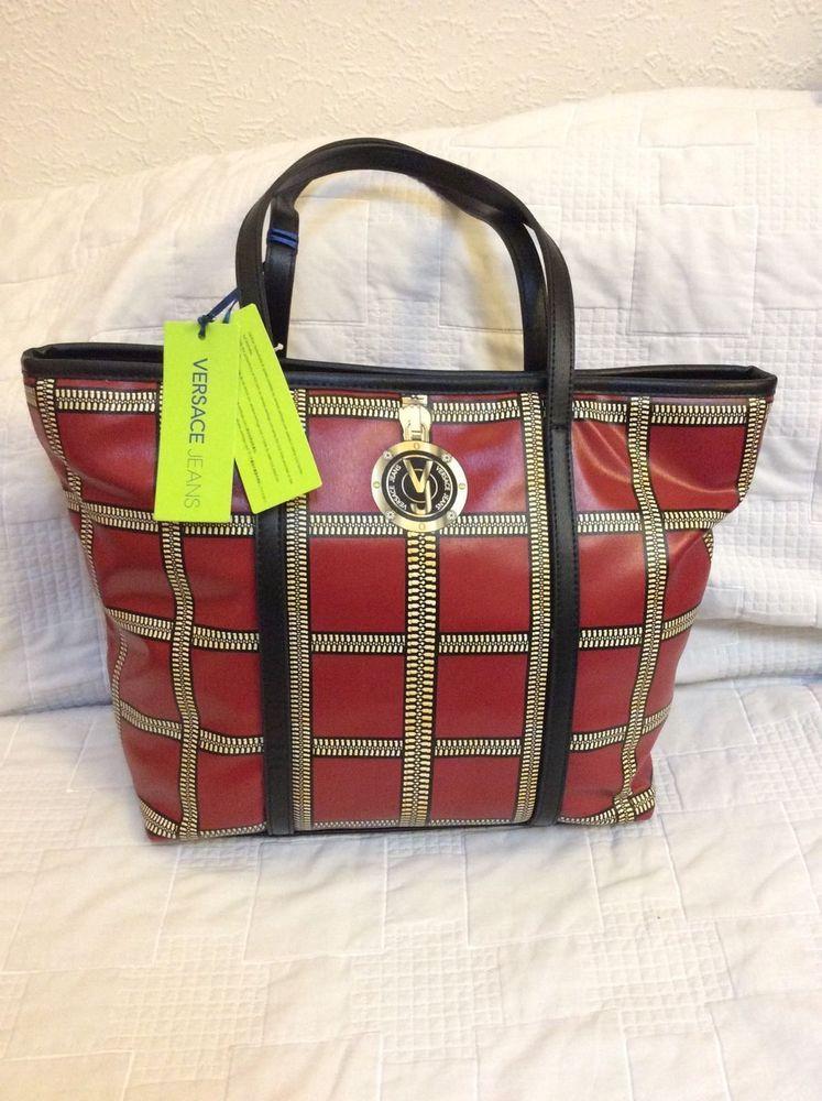 Rrp£120 Bag Handbags Ebay Bnwt Ladies Versace Fabulous Jeans IAxn6FnT
